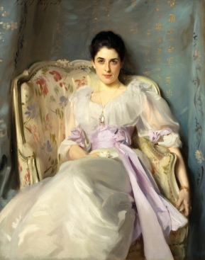 John Singer Sargent Lady Agnew of Lochnaw, 1892 Oil on canvas 49 ½ x 39 ½ inches Scottish National Gallery, Edinburgh © Trustees of the National Galleries of Scotland