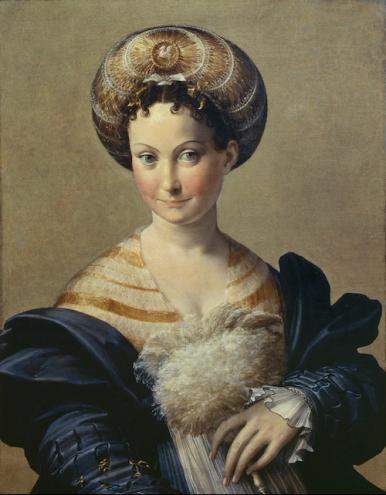 Francesco Mazzola, called Il Parmigianino (1503–1540) Schiava Turca, c. 1531–34 Oil on panel 26 3/4 x 20 7/8 inches Galleria Nazionale di Parma Photo: Scala/Art Resource, NY