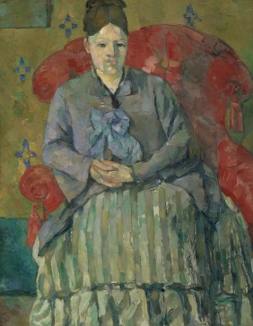Paul Cézanne (French, Aix-en-Provence 1839–1906 Aix-en-Provence) Madame Cézanne in a Red Armchair About 1877 Oil on canvas, 72.4 x 55.9 cm (28 1/2 x 22 in.) Museum of Fine Arts, Boston, Bequest of Robert Tree Paine, 2nd