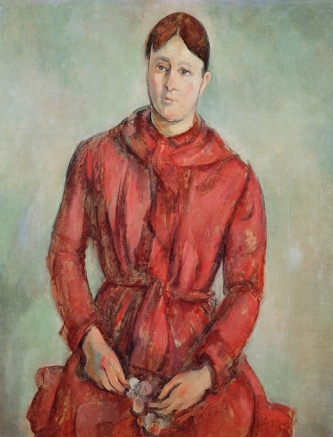 Paul Cézanne (French, Aix-en-Provence 1839­1906 Aix-en-Provence) Madame Cézanne in a Red Dress Oil on canvas, 35 x 27 ½ in. (89 x 70 cm) Museu de Arte de São Paulo Assis Chateaubriand